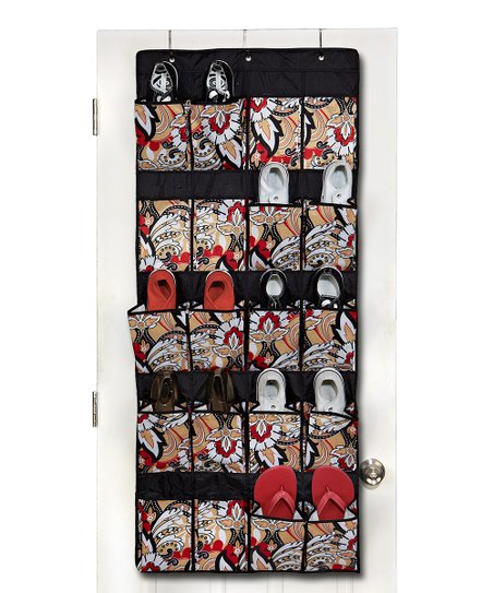 Serena Brit Over-Door Shoe Organizer