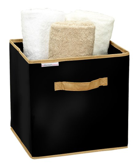 Black Medium Storage Cube