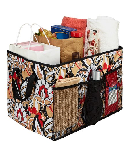 Serena Brit Collapsible Trunk Organizer