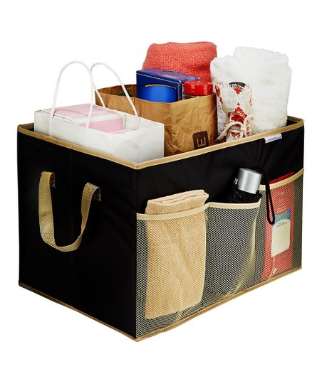 Black Collapsible Trunk Organizer