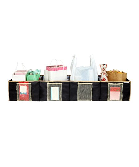 Black Shopping Trunk Organizer