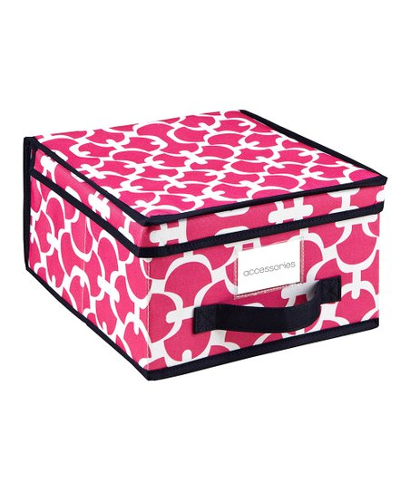Pink Scout Medium Storage Box