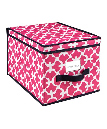 Pink Scout Large Storage Box