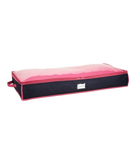 Navy & Fuchsia Under-Bed Storage Bag
