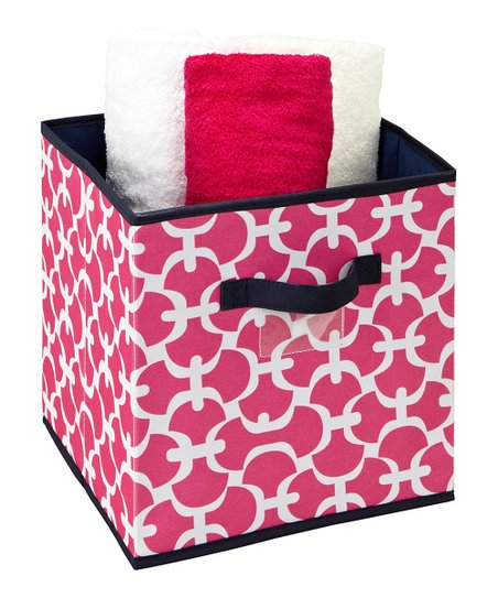 Pink Scout Medium Storage Cube