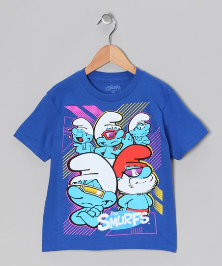 Royal 'The Smurfs' Sunglasses Tee - Boys