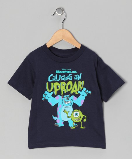 Navy 'Uproar!' Monsters Inc. Tee - Toddler
