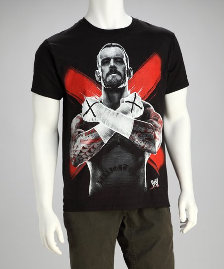 Black CM Punk Tee - Men