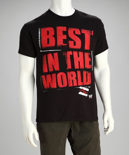 Black 'Best In The World' Tee - Men