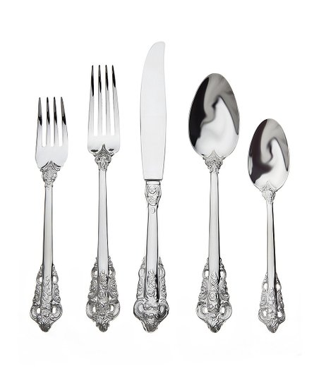 Godinger 20th Century Baroque 20-Piece Flatware Set