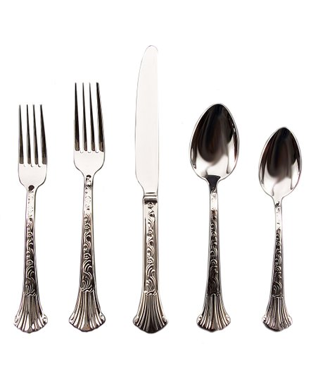 Godinger Royal Palace 65-Piece Flatware Set
