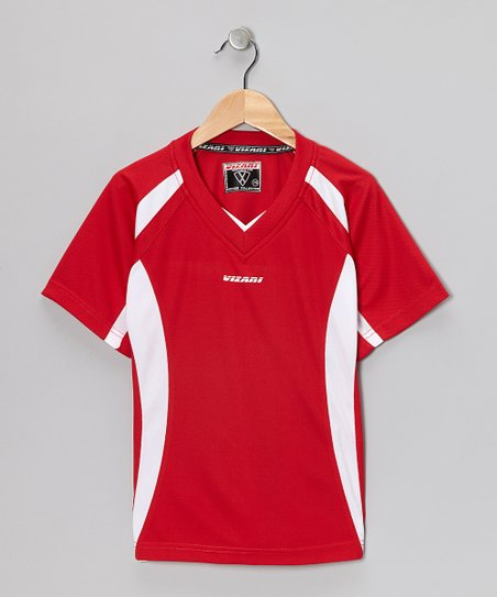 Red City Soccer Jersey - Kids & Adults