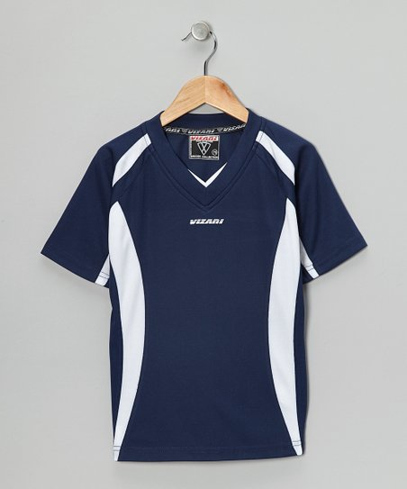 Navy City Soccer Jersey - Boys