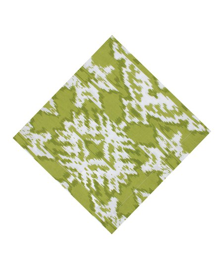 Fete Lime Ikat Place Mat - Set of Four