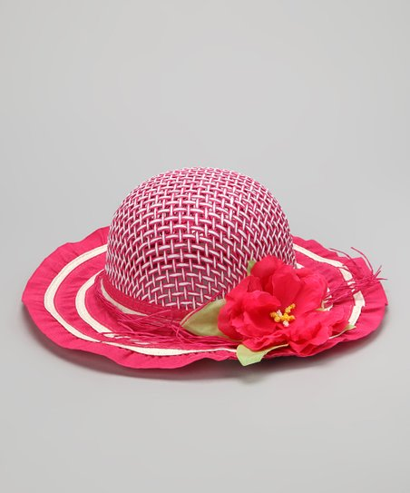 Fuchsia Tea Party Bucket Hat