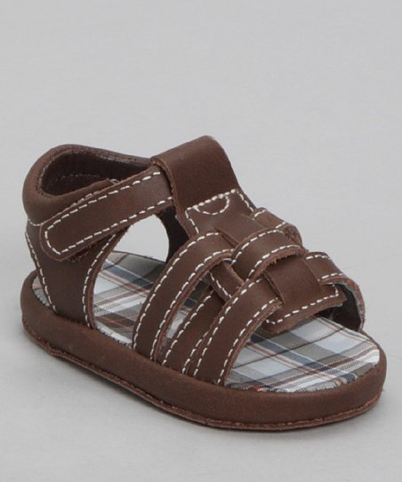 Brown Distressed Fisherman Sandal
