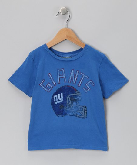 Light Blue New York Giants Tee - Kids