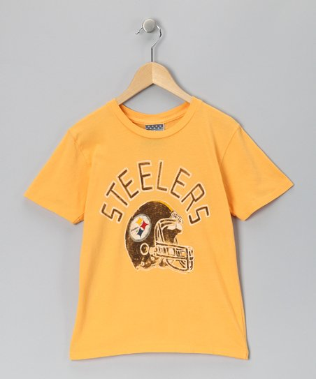 Mustard Pittsburgh Steelers Tee - Kids