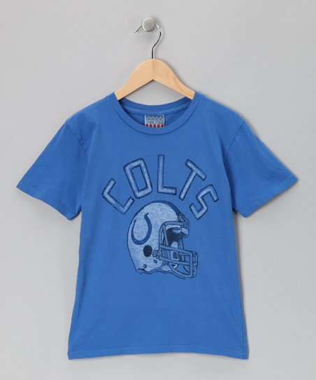 Light Blue Indianapolis Colts Tee - Kids