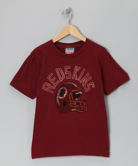 Crimson Washington Redskins Tee - Kids
