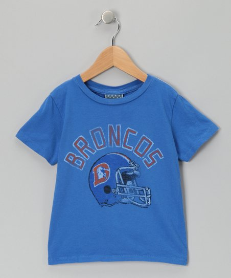Light Blue Denver Broncos Tee - Kids