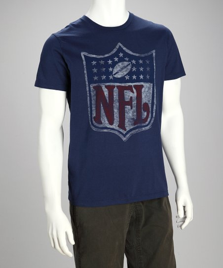 Navy True Navy NFL Logo Tee - Men