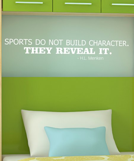 Belvedere Designs White 'Reveal It' Wall Quote