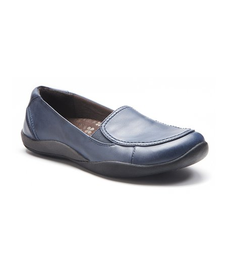 Navy Maddie Loafer – Women