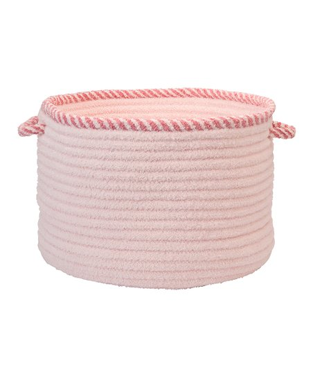Blush Pink Twist & Shout Basket