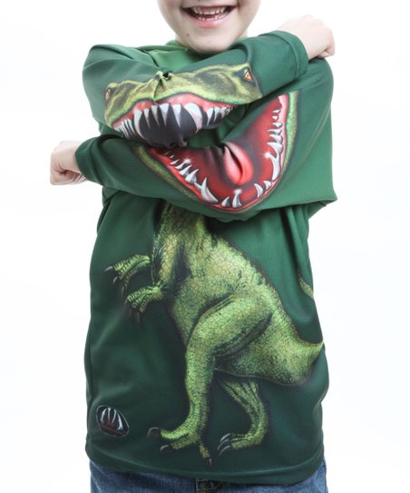 Raptor Hooded Tee - Toddler & Kids