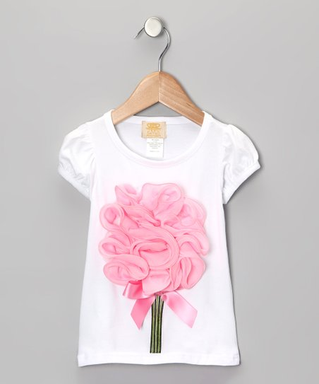 White Bouquet Tee