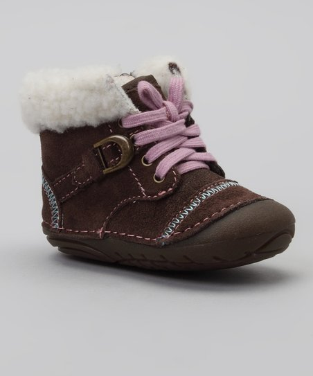 Brown SRT SM Cozy Crystal Boot
