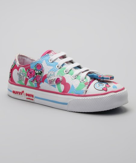 Pink & Blue Glitzy Pets Ruby Light-Up Sneaker