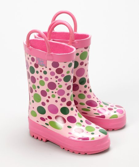 Candy Dot Rain Boot