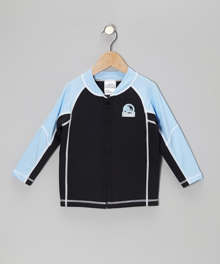 Blue & Black Jacket - Infant, Toddler & Kids