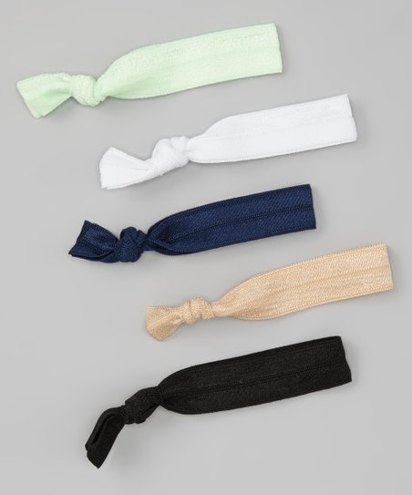 Preppy Hair Tie Set