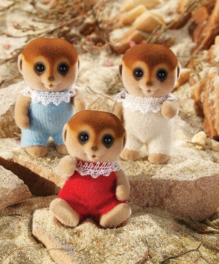 Meerkat Figurine Set