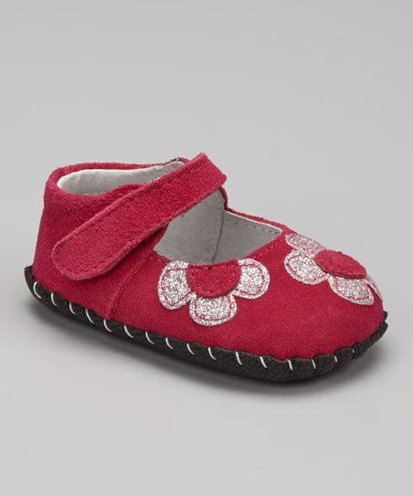 Fuchsia Abigail Soft-Sole Mary Jane