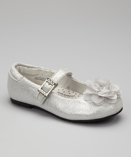 Silver Sparkle Stella Mary Jane
