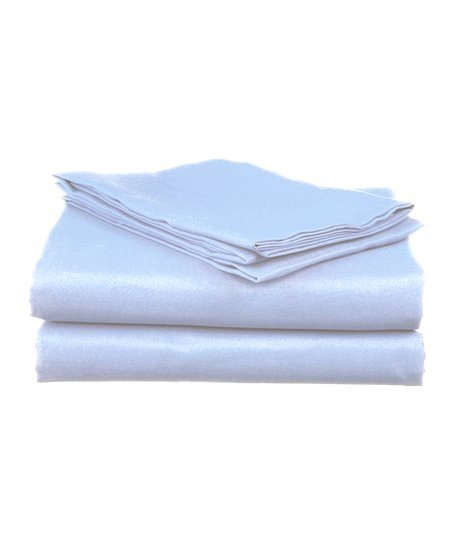 Blue Microfiber Sheet Set
