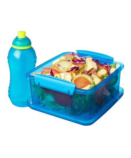 Turquoise Lunch Pack & Bottle