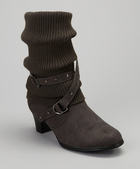 Gray Lizzy Boot