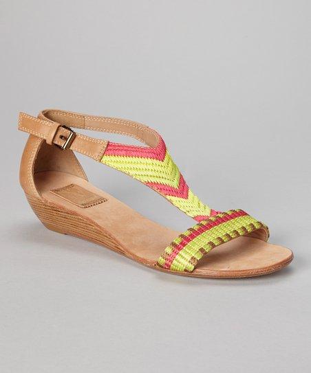 Caramel & Pink Hadley Sandal