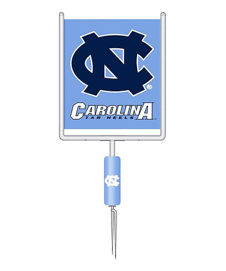 North Carolina Garden Goalpost Flag Set