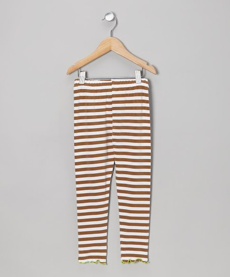 Saddle Stripe Leggings - Toddler & Girls