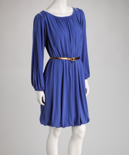 Heliotrope Belted Dress