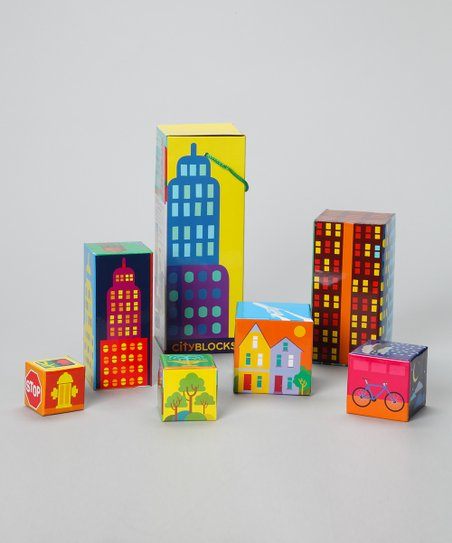 CityBLOCKS Stacking Block Set