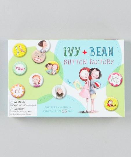 Ivy and Bean Button Factory Set