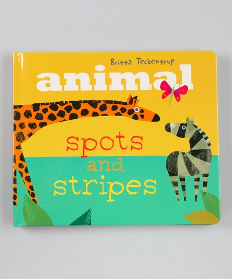 Animal Spots & Stripes Hardcover