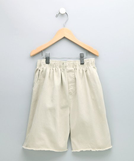 Clay Cutoff Shorts - Boys